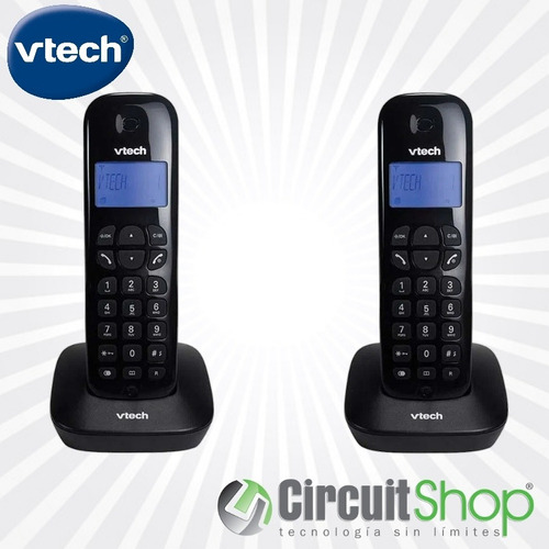 Teléfonos Inalámbrico Vtech Vt680-2 Id Dect 6.0 Circuit Shop
