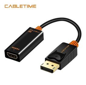 Adaptador Displayport Para Hdmi 4k - Cabletime