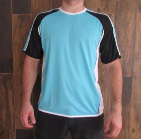 Camiseta Malha Dry Fit Com Recortes, Filetes, Tela Lateral