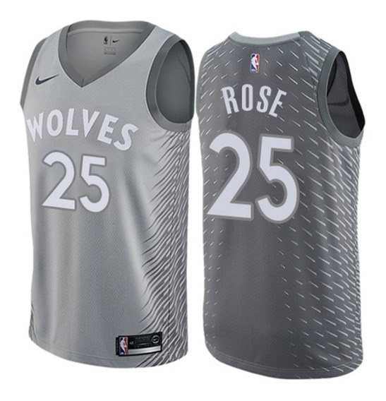 Camisa - Derrick Rose - Timberwolves