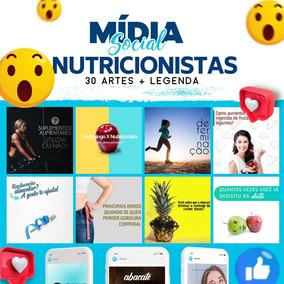 30 Posts Para Nutricionistas - Facebook E Instagram