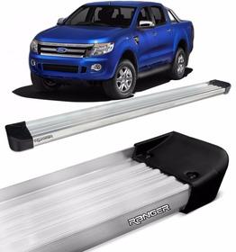 Estribo Plataforma Para O Ford Ranger 2016 2017 - Prata
