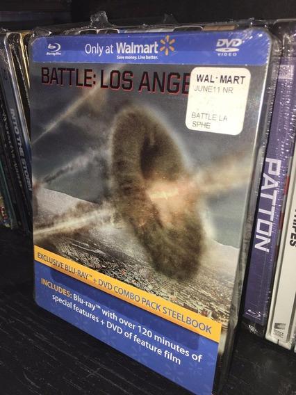 Blu Ray Batalla Los Angeles Steelbook Limited Edition Nueva