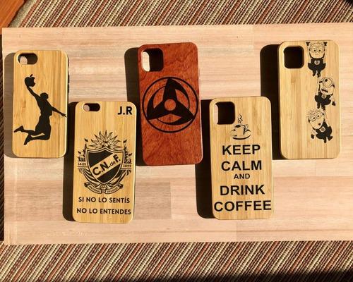 Case/ Funda/carcasas iPhone Personalizadas De Bamboo