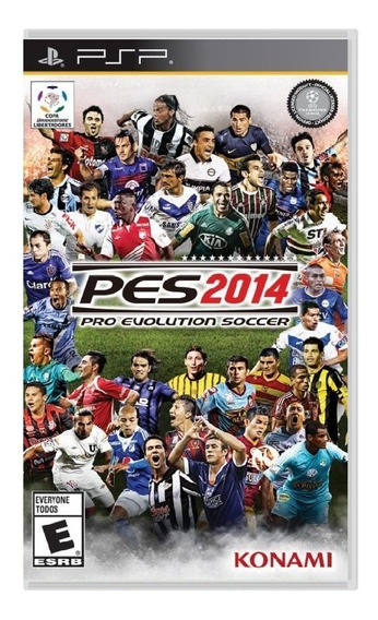 Jogo Novo Pro Evolution Soccer 2014 Pes 14 Pra Psp