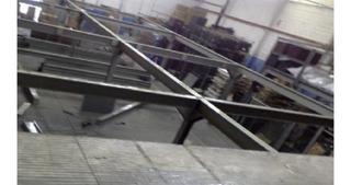 Mezanino (96 M2 Com Escada) Prateleira De Aço Porta Pallet
