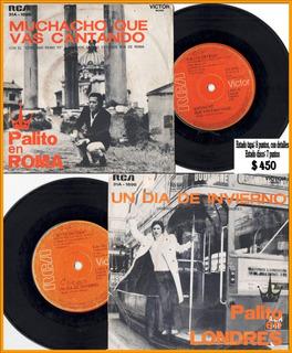 Palito Ortega En Londres / En Roma Disco Simple
