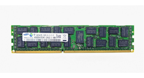 Imagem 1 de 3 de Memória Ecc Servidor Samsung M393b1k70ch0-ch9q5 8gb 2rx4 Pc3