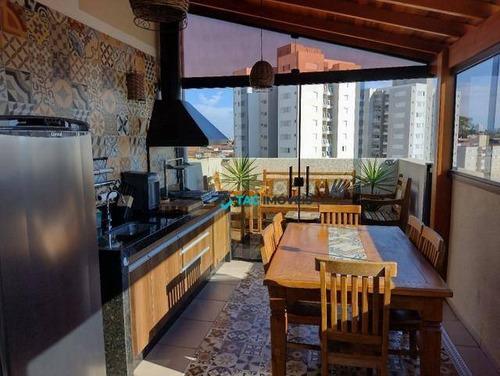 Cobertura Com 2 Dormitórios À Venda, 115 M² Por R$ 400.000 - Jardim Nova Europa - Campinas/sp - Co0075