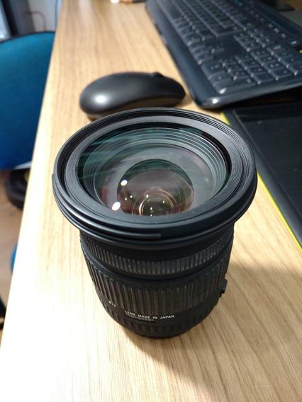 Lente Sigma 17-70mm F2.8 - 4.5 Macro Para Canon