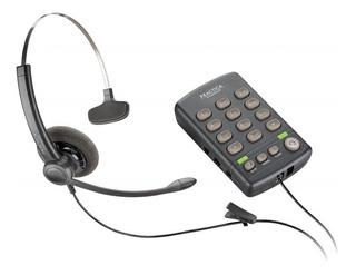 Headset + Fone + Teclado + Telemarketing - Plantronics T110