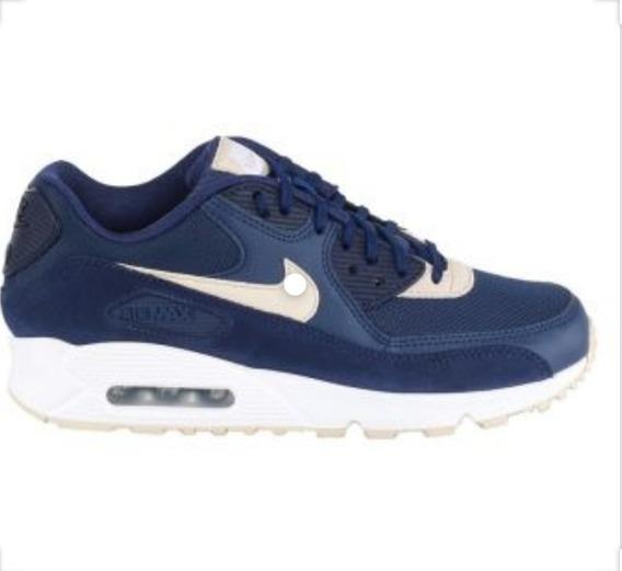Tênis Nike Air Max 90 Binary Blue Oatmeal *original Usado*