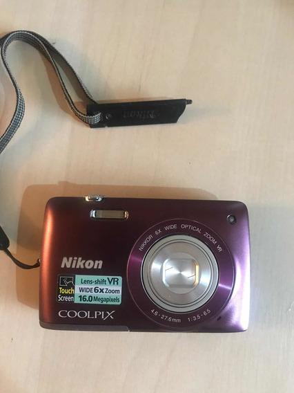 Câmera Nikon Coolpix S4300 Seminova