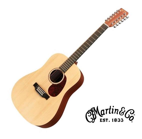 Guitarra Electroacustica Martin D12x1ae 12 Cuerdas Rd Music