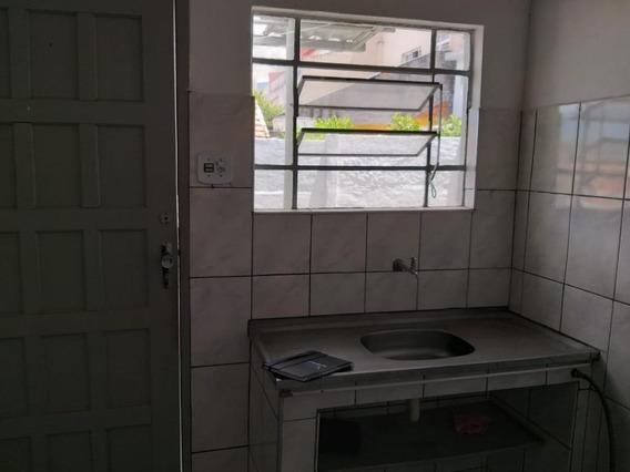 Casa Com 1 Dormitório Para Alugar, 40 M² Por R$ 600,00/mês - Vila Francisco Matarazzo - Santo André/sp - Ca1486