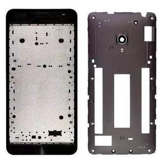 Carcaca Aro Completo Zenfone 5 A500 C/lente S/tampa Traseira