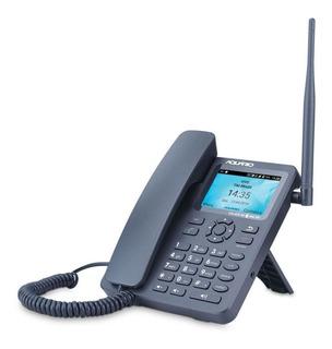 Celular Rural De Mesa Aquário 2 Chip 3g 4g Internet Com Wifi