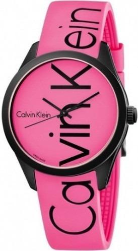Reloj Original Dama Marca Calvin Klein Modelo K5e51tzp