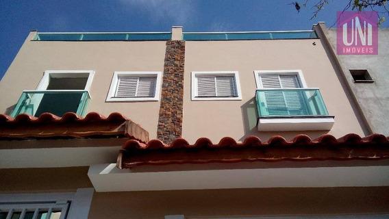 Cobertura Residencial À Venda, Vila Curuçá, Santo André. - Co0266