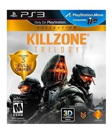 Jogo Ps3 Killzone Trilogy Original Usado Mídia Física