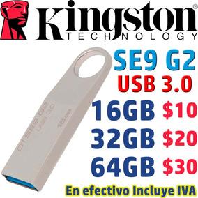 Metálico Flash Memory Usb 3.0 Kingston Se9 G2 Pen Drive Usb