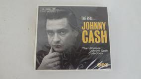 Johnny Cash Box Set 3 Cds The Real Johnny Cash Novo Lacrado