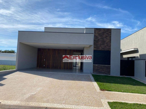 Casa Com 3 Dormitórios À Venda, 210 M² Por R$ 1.350.000,00 - Residencial Villa Bella - Siena - Paulínia/sp - Ca1852