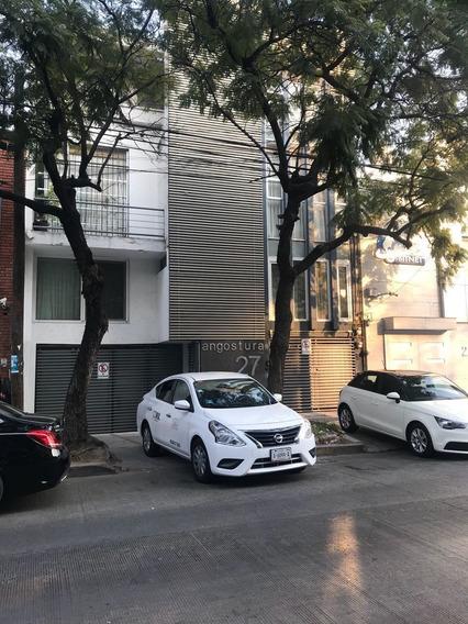 Amplio Departamento Planta Baja Frente A Pabellón Polanco