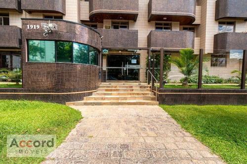Apartamento Com 3 Dormitórios À Venda, 91 M² Por R$ 590.000,00 - Água Verde - Curitiba/pr - Ap0212