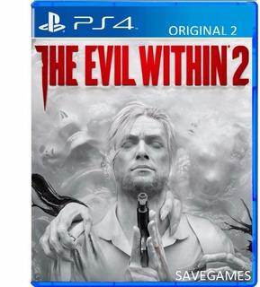 The Evil Within 2 Ps4 Alguel 7 Dias