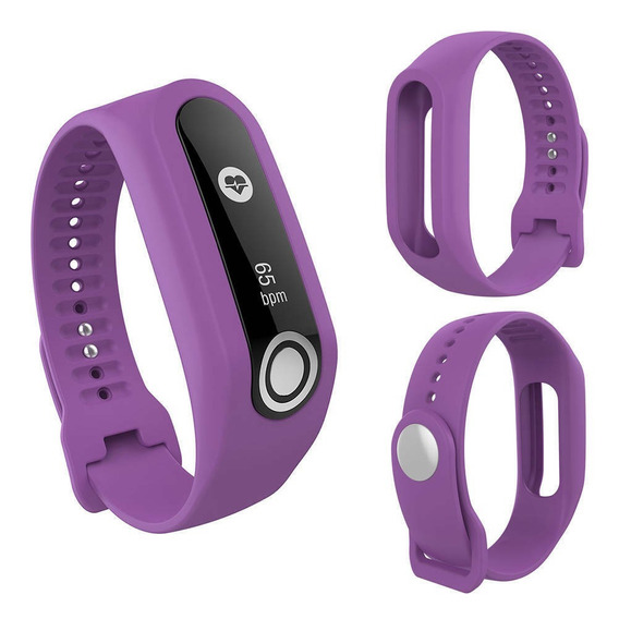 Pulseira Lilás Compatível Para Tomtom Touch Fitness Tracker