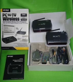 Transmisor De Audio Y Video Inalambrico De Pc-portatil A Tv