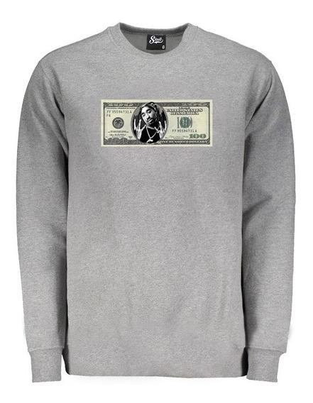 Roupa Camisa Frio Casaco Luxo Masculino Moletom Dolar Money