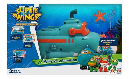Set Willy El Submarion Súper Wings