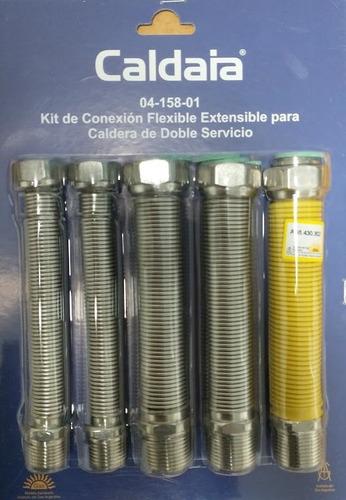 Kit Conexión Flexible Para Caldera Dual Caldaia