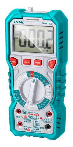 Multimetro Digital Total/rms Ac/dc 750vac / 1000vdc