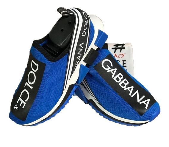 Tênis Dolce & Gabbana Azul Frete Grátis Tenis Novo Promoção