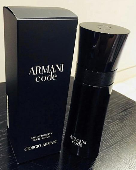 Perfume Armani Code 125 Ml Original Lacrado