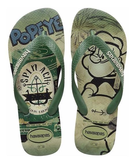 Chinelo Havaianas Popeye Verde Mentol