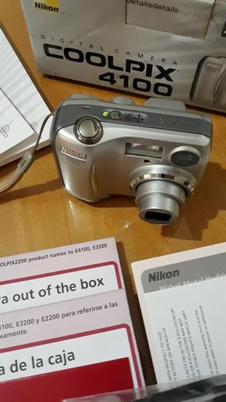 Câmera Digital Nikon Coolpix 4100 4m Pixel 3x Zoom Óptico
