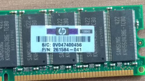 Memória Hp/compaq 512mb - 261584-041 - M312l6420ets-cb0q0
