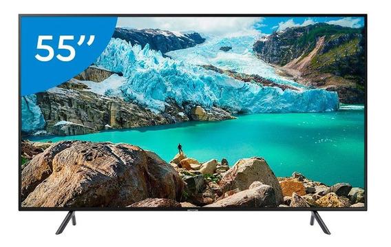 Smart Tv Led 55 Polegadas Samsung 55ru7100 Ultra Hd 4k