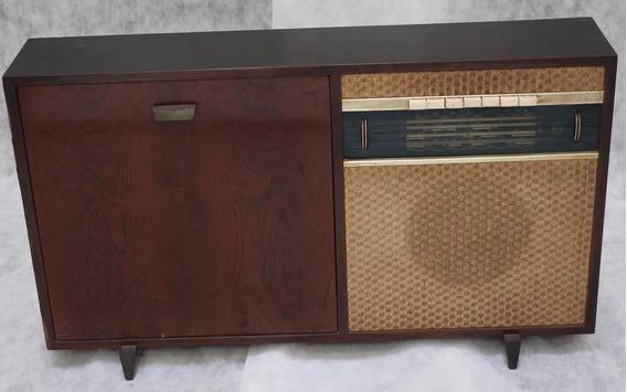 Rádio Vitrola Philips Toca Disco