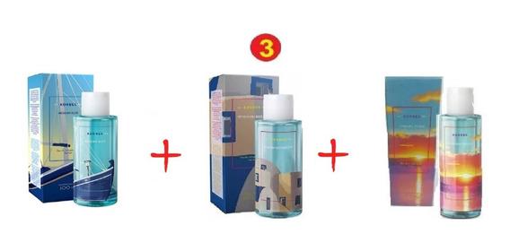 Kit Com 3 Perfume Feminino Eau De Perfum Korres 100ml Cada