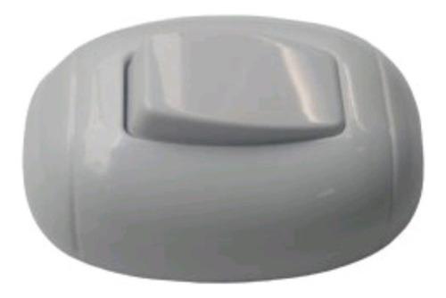 Interruptor Sencillo De Sobreponer Pared Muro Blanco Lujo