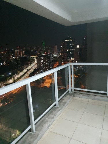 Imagem 1 de 10 de Apartamento Com 1 Dormitório Para Alugar, 44 M² Por R$ 3.300,00/mês - Brooklin - São Paulo/sp - Ap16131