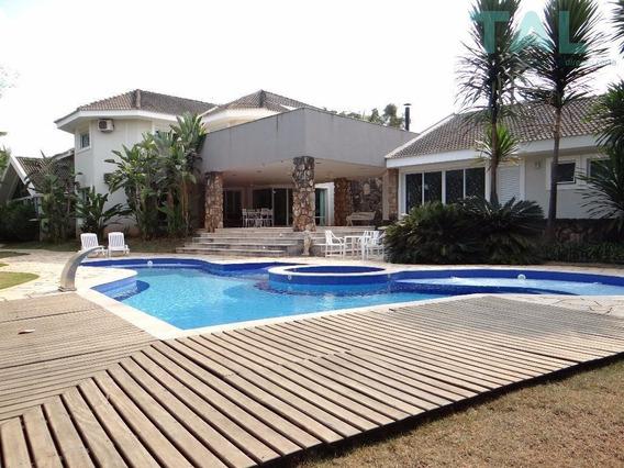 Casa Residencial À Venda, Barão Geraldo, Condomínio Rio Das Pedras, 5 Suítes, Campinas. - Ca0088
