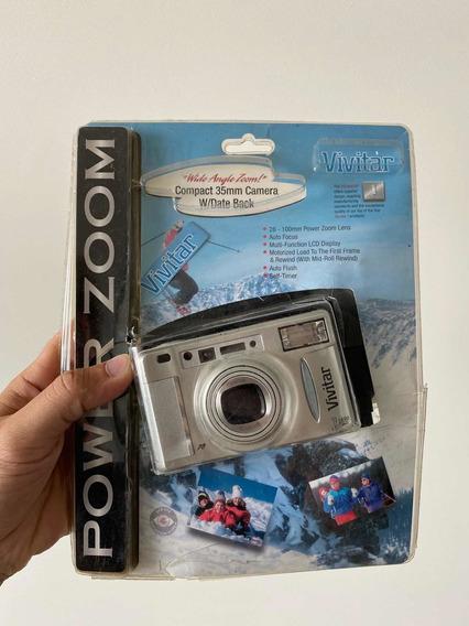 Câmera Analógica Vivitar - 35mm - Nova