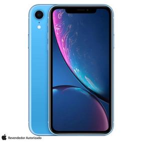 iPhone Xr Azul Tela 6,1 4g 256 Gb Câmera 12 Mp Mryq2bz/a