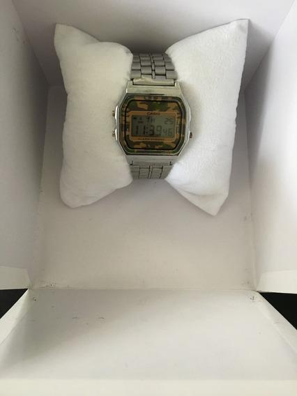 Relógio Casio Prata Unissex
